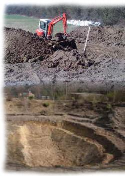 Teich ausheben for Ratgeber teichbau